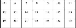Calendrier Avril 2020 jours fériés
