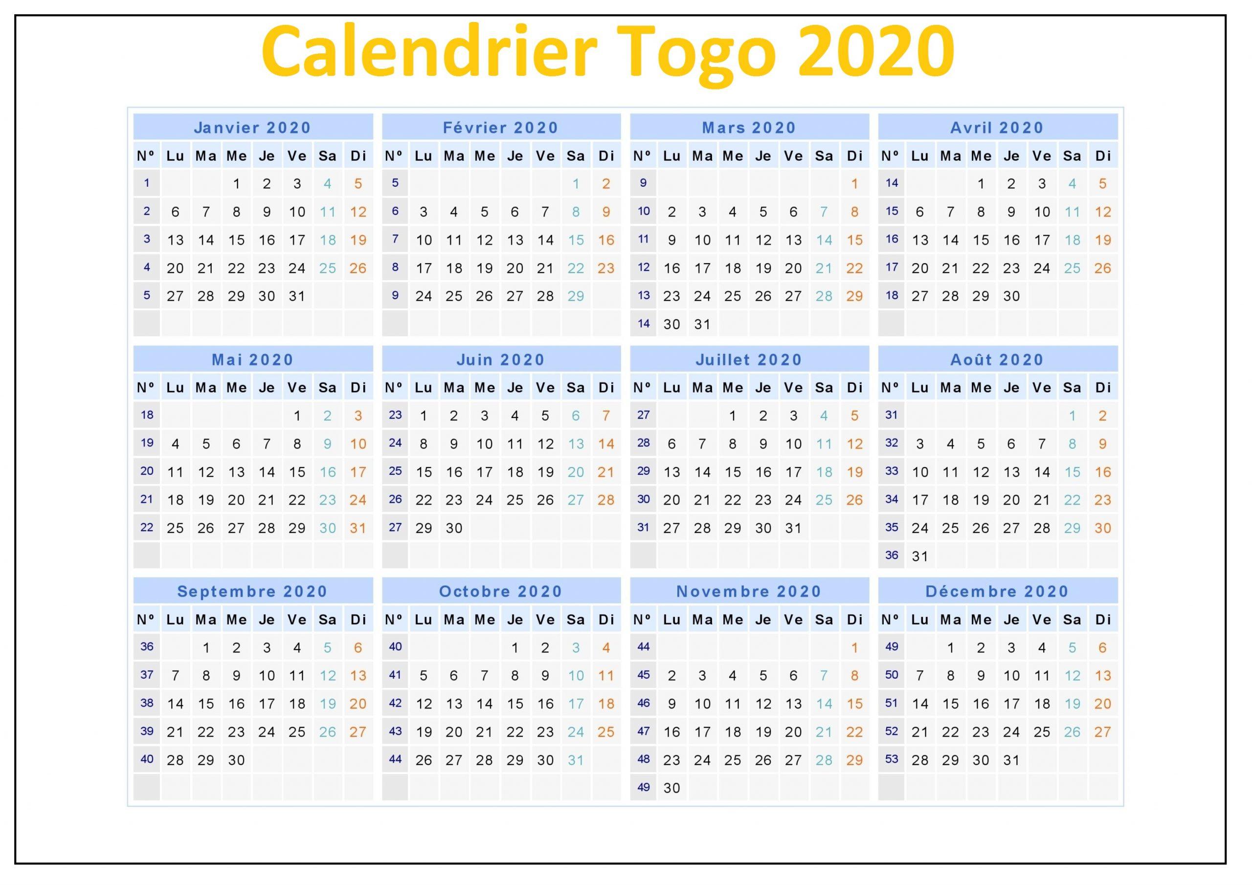 Calendrier Vaccinal Au Togo