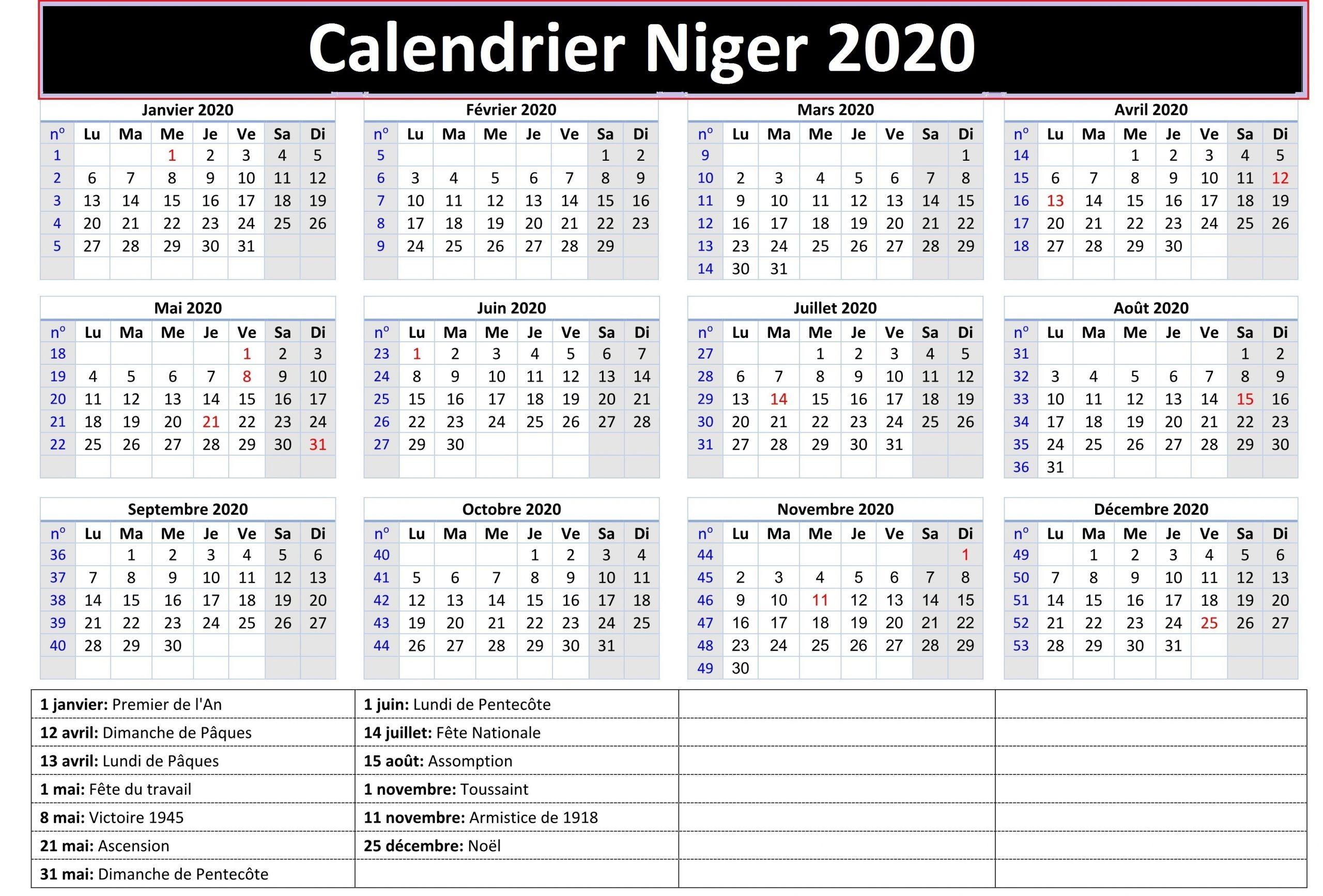 CalendrierCan 2019 Nigeria
