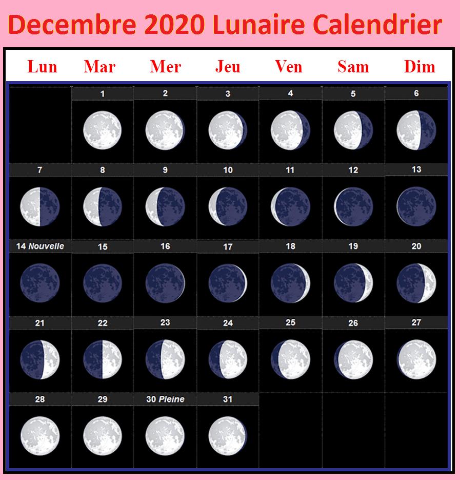 Phases De La Lune Dates Decembre 2020
