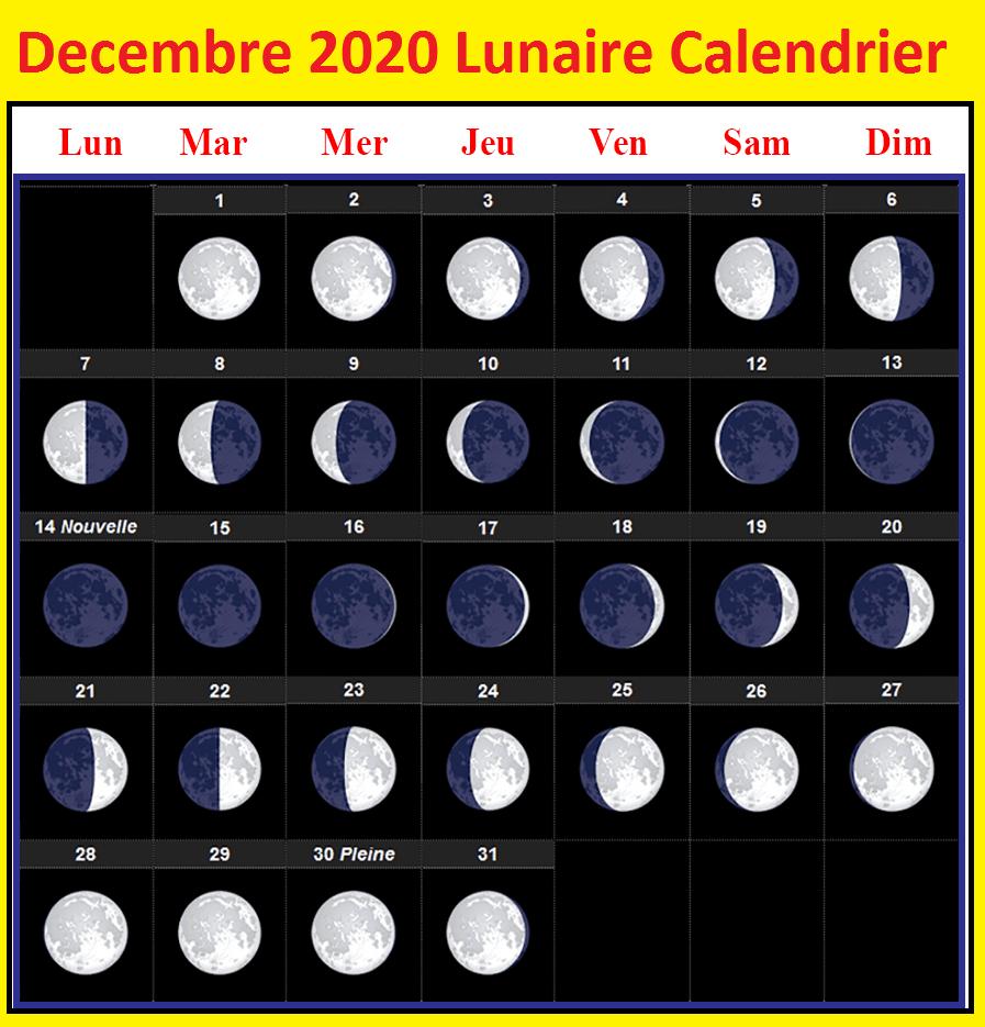 Calendrier Lunaire Decembre 2020 Jardinage