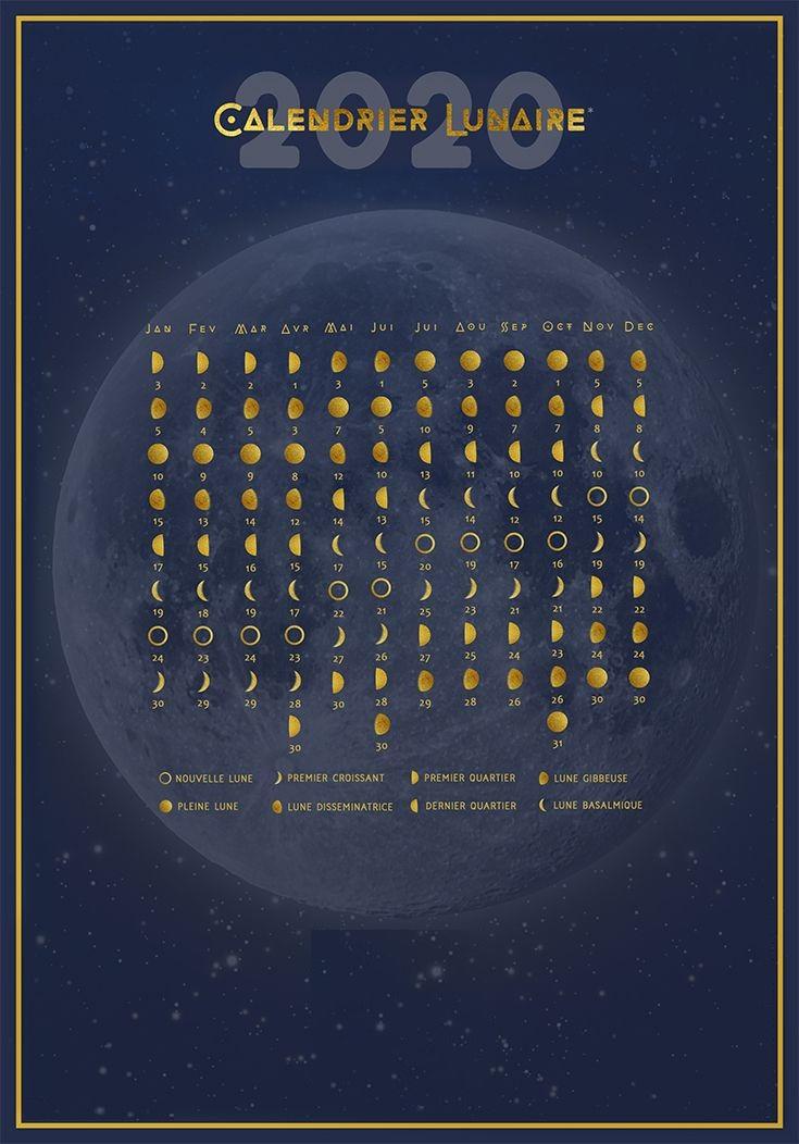 Calendrier pleine lune 2020 Belgique