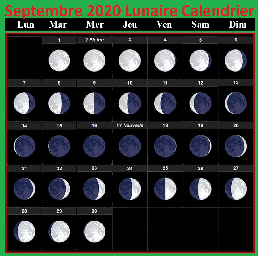 Lunar calendar September 2020 Gardening
