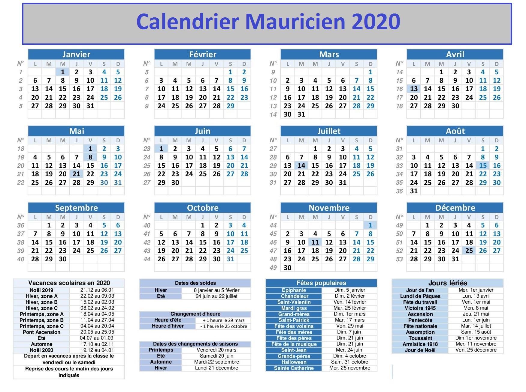 Rseq Mauricie Calendrier 2020