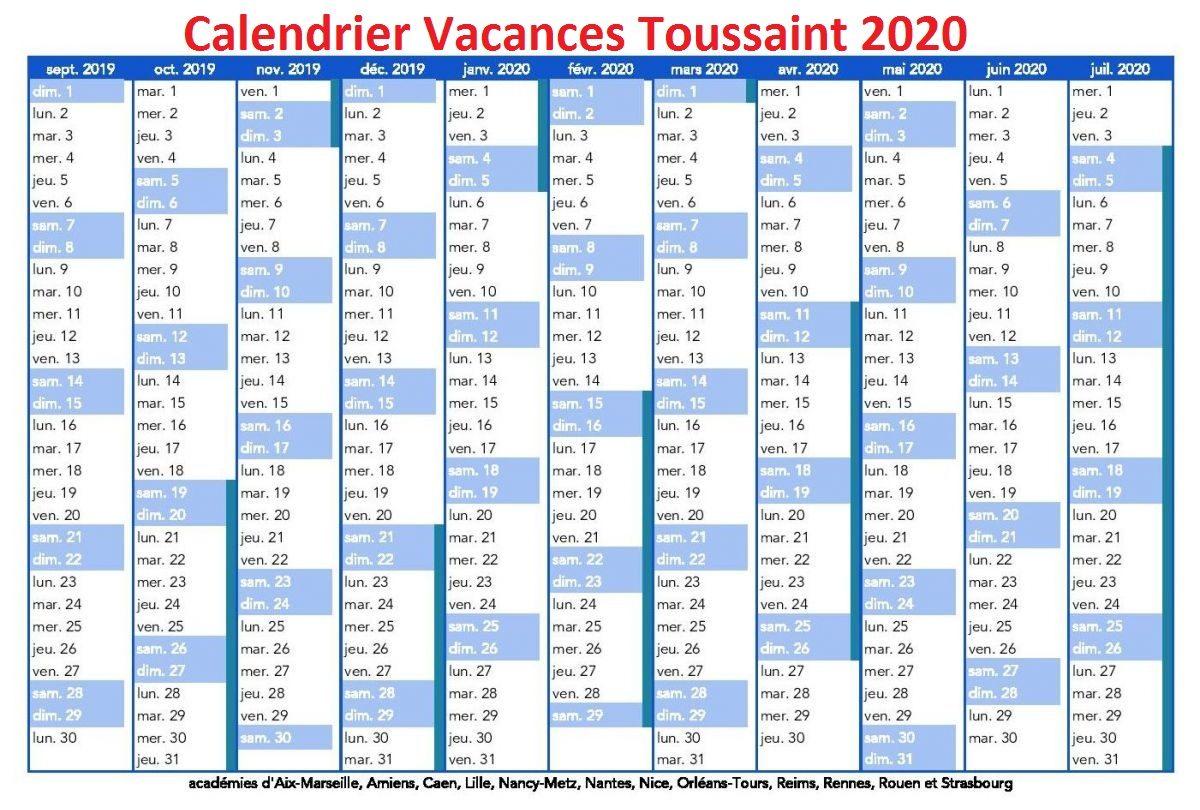 Vacances Toussaint 2020 Toulouse