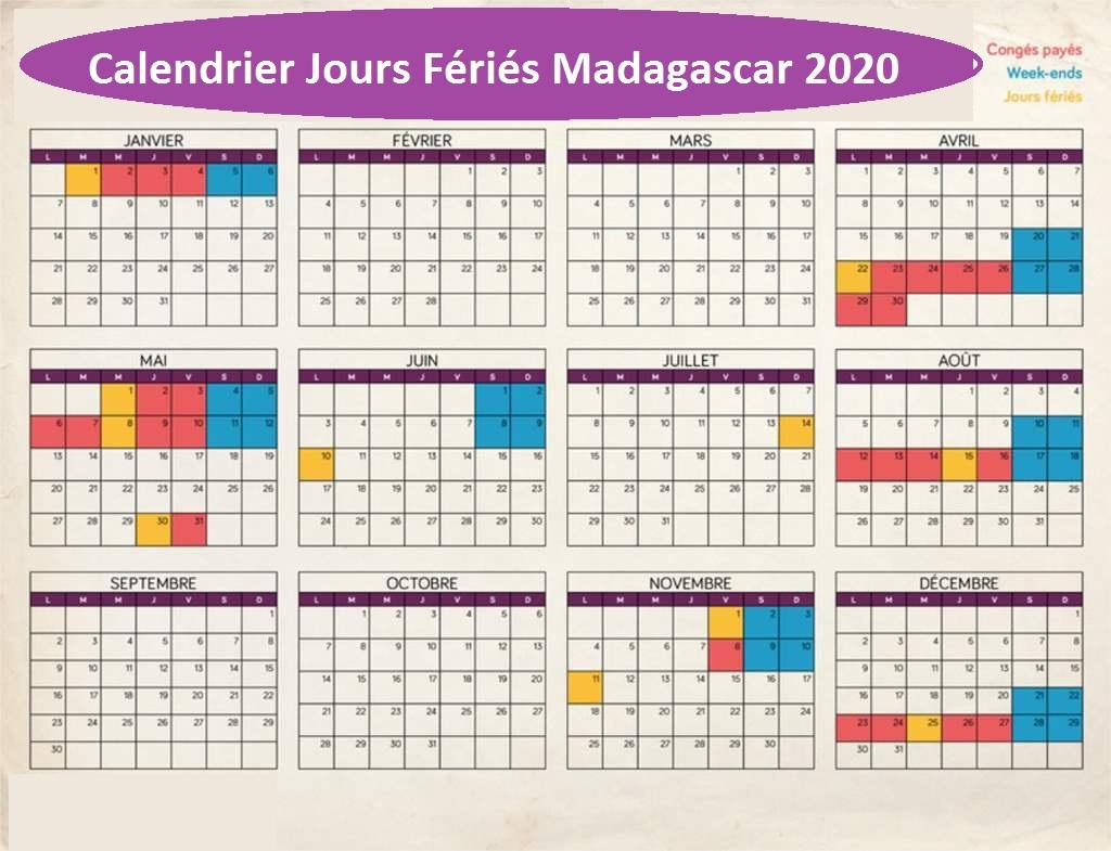 Les Jours Fériés Au Madagascar 2020