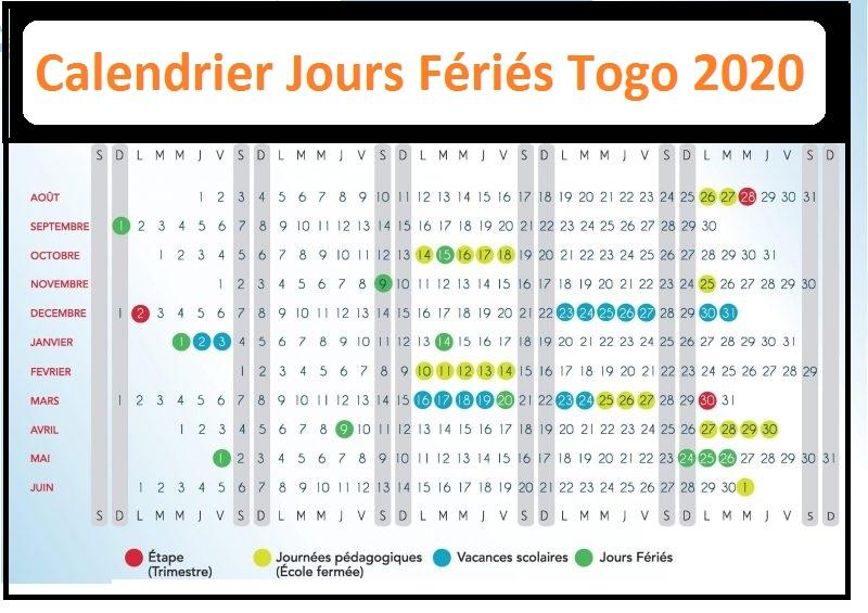 Les Jours Fériés Au Togo 2020