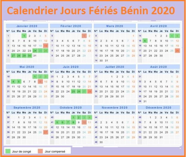 Les Jours Fériés Au Bénin 2020