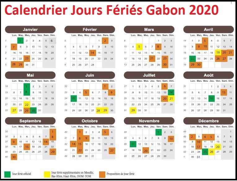 Les Jours Fériés Du Gabon 2020