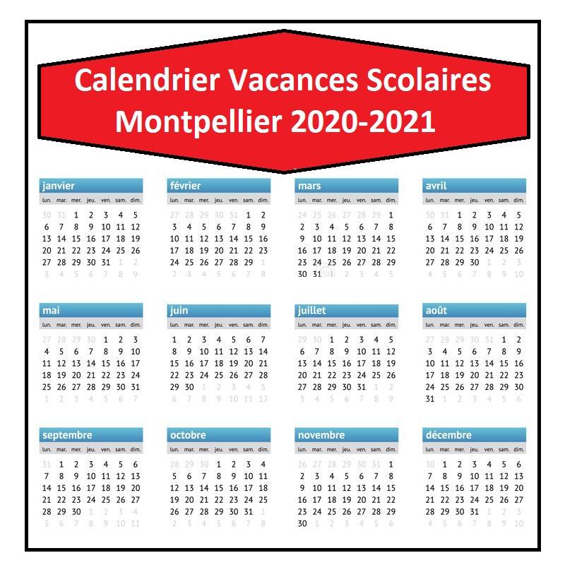 Vacances Scolaires 2019 et 2020 Montpellier